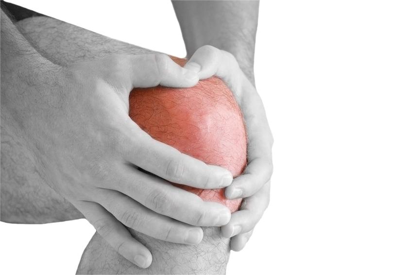 Gelenkschwellung im Knie